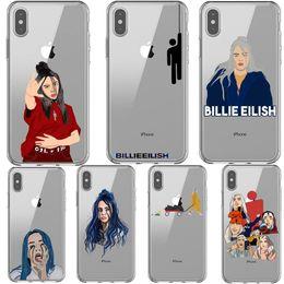 Billie Eilish Arc-En-Océan Yeux Doux Tpu Silicone Couverture Arrière Cas De Téléphone Pour Iphone X 5 5s Se 6 6splus 7 8 Plus Xs Max Xr ? partir de fabricateur