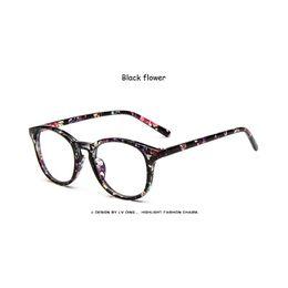 f5e3c64ea0 2019 Spectacle Classic Women Round Eyeglasses Frame Brand Designer Fashion  Men Nail Decoration Optical Glasses Reading Glasses