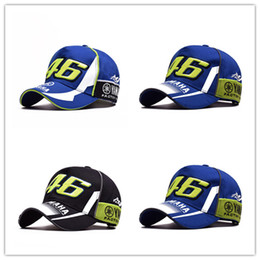active gps Promo Codes - NEW High Quality Moto Gp 46 Motorcycle 3d Embroidered F1 Racing Cap Men Women Snapback Caps Rossi Vr46 Baseball Cap Yamaha Hats