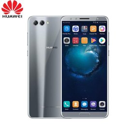 """сотовые телефоны mini wifi Скидка Оригинал Huawei Nova 2S Android 8.0 Мобильный телефон 6.0 """"Полноэкранный режим 2160 * 1080 пикселей Смартфон Octa Core 4 камеры Идентификатор отпечатков пальцев NFC"""