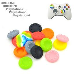 1000 unids / lote Funda protectora de pulgares de silicona antideslizantes Tapas de palanca de pulgar Cubiertas de joystick Tapas para PS3 / PS4 / XBOX ONE / XBOX 360 controladores desde fabricantes
