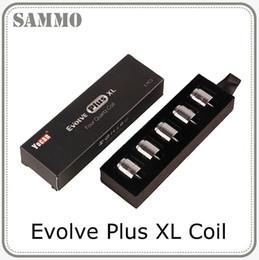 2019 bobine di sostituzione a fumo Evolve Plus XL Wax QUAD Bobina Quad Quatz Bobina con Bobina Cappuccio per Evolve Plus XL Dab Pen Kit 0266167