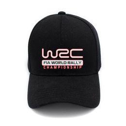 2019 wrc sport Classic World Rally Championship WRC Logo Stampa Cap Unisex Uomo Donna Berretto in cotone Baseball Sport All'aperto Snapback Ha wrc sport economici
