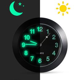 orologio decorazione Accessori interni Ornamento orologio al quarzo clip orologio oro Auto Vent Orologio universale per presa daria