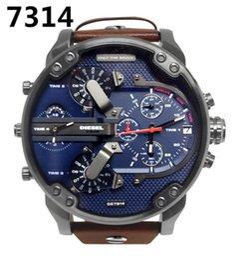 acciaio blu giapponese Sconti lusso Sport militare montres mens nuovo originale reloj grande quadrante display diesels orologi dz orologio dz7331 DZ7332 DZ7315 DZ4281 DZ4290 DZ7314