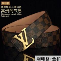 Argentina 26 estilos cinturones de diseño cinturones de lujo para hombres cinturón de hebilla grande moda para hombre cinturones de cuero al por mayor envío gratuito Suministro