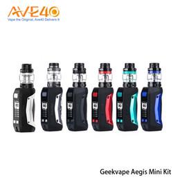 hash penne all'ingrosso Sconti Originale Geekvape Aegis Mini Kit Sigaretta elettronica impermeabile 2200mAh 80W batteria con 5.5ml Cerberus serbatoio
