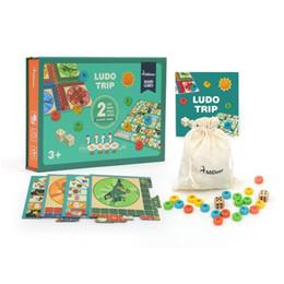 jogos de tabuleiro de bebê Desconto Crianças Jogo de Tabuleiro Xadrez Voando Multi-funcional Educação Infantil de Dupla Face Jogo de Tabuleiro Brinquedos Educativos