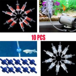 2019 válvula de retenção 10 Pcs Aquário One Way Válvula de Retenção Não-Retorno Sistema de CO2 da Bomba de Ar Do Tanque de Peixes válvula de retenção barato
