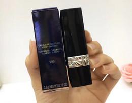 2019 sexy dunkles make-up Marke 5 färbt Mattlippenstift 3.5g Rot 999 MATTE 888 520 080 028 rote Make-uplippenstifte für Frauen mit Markennamen Fabrik-Großverkauf