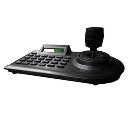 Caméra ptz analogique en Ligne-Axe Ptz Joystick Ptz Contrôleur Clavier Rs485 Pelco-D / P Avec Ecran Lcd Pour Analogique Sécurité Vitesse Dôme Caméra