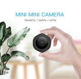 2019 caméra portable Caméra portable Caméra H6-DV Mini HD pour détection de mouvement, enregistrement en boucle, caméra portable 1080P, caméra magnétique traitée DV, caméra de vision nocturne promotion caméra portable