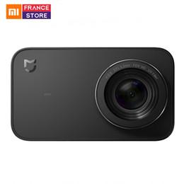 2019 радиационный наклейка телефона Английская версия Xiaomi в Mijia мини действий камеры 4K Спорт Cam видео записи WiFi цифровые фотоаппараты Bluetooth датчик Ambarella A12S75
