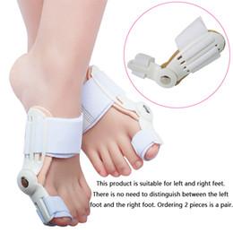 большой корректор выпрямителя Скидка Корректор выпрямителя шипов большого пальца стопы большого пальца стопы, облегчение боли в ногах Hallux Valgus Pro ортопедические принадлежности Педикюр Уход за ногами