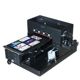 kommerzielle etikettendrucker Rabatt 8-Farben-A3-UV-Drucker Tintenstrahldrucker Flachbettdruckmaschine mit DX5-Druckkopf für Telefonkasten, Metall, Golf, Leder