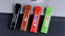 2019 penne a forma di vape Originale HQD CUVIE Penna monouso Vape TPD Imballaggio 300 Puffs Pod System 280mAh 1.25ml Dispositivo Pod Moda E-cig Popular Vape SPEDIZIONE GRATUITA penne a forma di vape economici