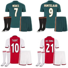 4a8fa9cd1 2019 2020 ajax adult FC Soccer Jerseys home kits 19 20 Customized #7 NERES  # 10 TADIC #4 DE LIGT #22 ZIYECH Football Shirt