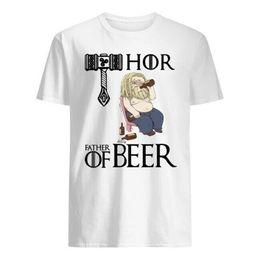The God of Thunder THOR Funny T-Shirt 2019 Beer Belly Endgame Men/'s White S-5XL