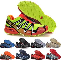 Argentina Salomon Zapatos de camuflaje para hombre zapatos hombre Speed Cross 3 CS III Sport Zapatillas de deporte Hombre Speed cross Sod cross Solomon zapatos para correr cheap camouflage running shoes men Suministro