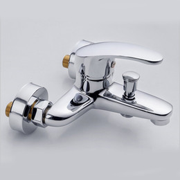 2019 válvula de chuveiro ocultada Válvula de mistura escondida quente e fria do torneira do chuveiro da banheira do chuveiro do Multi-triplo válvula de chuveiro ocultada barato