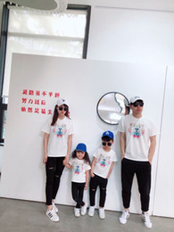 Canada Family Pack T-shirts en coton, famille 2019, garçons et filles, vêtements d'été assortis Offre