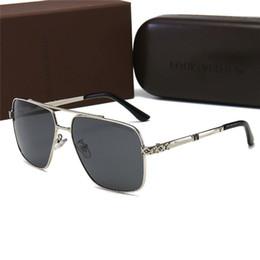 2020 luxus-polaroid-sonnenbrille Top-Qualität polarisierte Herren Antike Sonnenbrillen Designer Weiseluxuxfrauen Marken Metal Polaroid Goggle Sonnenbrillen Outdoor Sportbrillen mit Kasten günstig luxus-polaroid-sonnenbrille