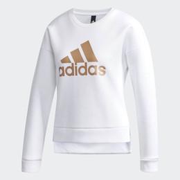 2019 Nuevo diseño Sudaderas con capucha de lujo Primavera Nuevo Estampado clásico Suéter blanco con capucha de marca blanca para mujeres desde fabricantes