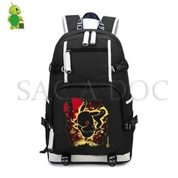 b67978678e5a Pikachu mewtwo Fluorescence Backpack Women Men School Laptop Backpack for Teenagers  Girls Boys Casual Travel Bags