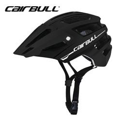 bicicletas de pista de ciclismo Rebajas Cairbull All-Track MTB Bicycle Helmet para hombres / mujeres Off-road Trail Mountain Bike Cascos de ciclismo de seguridad en molde