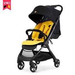 Kinderwagen online-VIKI Light Portable Kinderwagen / Pram (kann zum Flugzeug getragen werden), 4 Räder Kinderwagen Kinderauto, Neugeborenen Trolley Free Shippinge