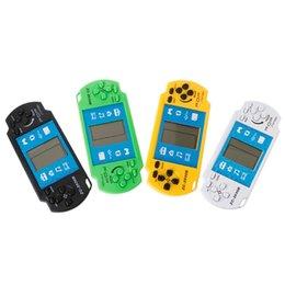 Canada Console de jeu vidéo Mini Tetris Jeux électroniques à main de poche Jeu de brique rétro De 2,5 pouces Lecteur de jeux vidéo Livraison gratuite Offre