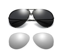 2019 occhiali da sole alla moda degli uomini Vendita calda Moda 2019 intercambiabile 8478 occhiali da sole donna Tinta Trendy Occhiali Da Sole Uomini Occhiali Lenti Sostituibili Gozluk tmall occhiali da sole alla moda degli uomini economici