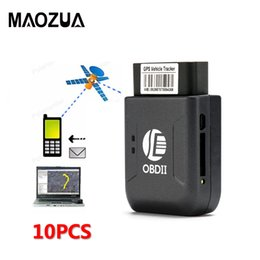 gsm localização Desconto 10 pçs / lote TK206 GPS Tracker Interface OBD2 OBDII Veículo Em Tempo Real GSM GPRS Carro GPS LBS Local Preciso Sistema de Rastreamento