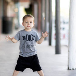 b65dc9293 Discount designer boys clothing - Summer baby boy clothes baby Boys Clothing  Sets casual Boys Suits