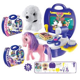 Simulazione Bellezza Giocattoli Puzzle Set Valigia per bambini Giocattoli Sviluppo precoce Educazione Gioco Giocattoli Regali per i bambini da