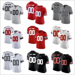 0d2ab707b Men and YOUTH Ohio State Buckeyes Jersey custom Stitched Personalized WHITE  red black Diamond Quest customized College Football Jerseys