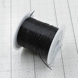 Canada Noir 10M / Rouleau Coloré Stretchy Corde Élastique Corde En Cristal Corde pour Fabrication de Bijoux Perles Bracelet Fil De Pêche Fil Corde supplier elastic thread black Offre