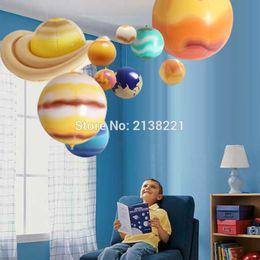 2019 modelli del sistema solare 10 pezzi / set galassia solare modello di insegnamento palloncini simulazione di fascino nove pianeti nel sistema solare bambini far saltare in aria giocattolo gonfiabile SH190913 sconti modelli del sistema solare