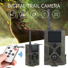 12mp scouting camera Desconto Skatolly HC300M Night Vision Camera Caça Infravermelho GSM 12MP 1080 P Scout Chasse Câmera Photo Traps Wildlife Trail Câmeras de Caça