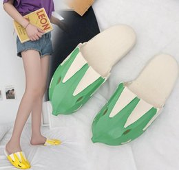 2004ad3cf Banana Flip Flops Women Sandals Shoes Woman Fruit Design Banana Flip Flops  Summer Unisex Beach Slipper LJJK1373 wholesale women fashion design shoes  on sale