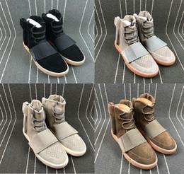 prateleira de sapato Desconto 2019 Novas Prateleiras Chegada 750 Boost Running Shoes Cinza Claro Preto Marrom Chocolate Shiny Preto OG Moda Rua Calçados Esportivos