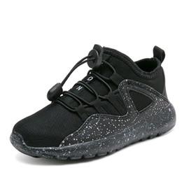 Argentina Zapatillas de correr para niños, niña, niña Zapatillas de deporte, transpirabilidad, tela de malla, zapatos casuales para bebés, 2019, nuevo, tamaño 25-36, negro, rojo y blanco. Suministro