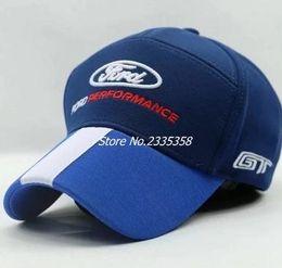 raça do ford Desconto New chegou Ford F1 corrida chapéu boné de beisebol para homens e mulheres chapéus de caminhão