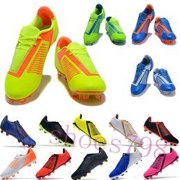 Argentina con caja 2019 botines de fútbol de lujo cr7 para hombre FG football copa mundial Fantasma Veneno zapatos juveniles para hombres zapatillas de deporte chaussures deporte corriendo Suministro