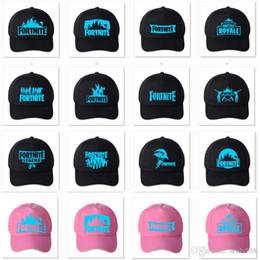 28d33ee0394 24 Colors Fortnite Luminous Led Caps Hats Game Trucker Net Snapback Baseball  Hat Sun Hats Unisex Hip Hot party Hats Christmas Gifts HH7-1910