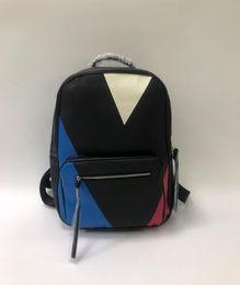 mochilas de escola Desconto saco Europa Designer Marca N41612 Damier Cobal Mens Mochilas High School de Qualidade