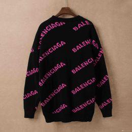 pull en crochet lâche été Promotion 2019 luxe mode pull-overs concepteur motif floral pullovers actif hommes signeur streetwear marque hoodies S M L XL XXL ## 136