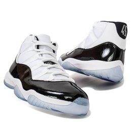 Размеры колпачков онлайн-Конкорд 11 платиновый оттенок мужчины баскетбол обувь кроссовки 11s крышка и платье тренажерный зал Красный ААА качество Спорт дизайнер тренеры размер 8-13 С коробкой