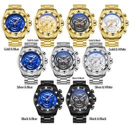 b7a71c994ee grande cara relógios esportivos Desconto Relógio de alta qualidade dos  homens Invicta Sports relógios de quartzo