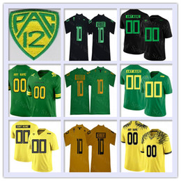 1eee5dd0228 Discount oregon ducks football jerseys - Custom Oregon Ducks College Football  Jersey Any Name Number Stitched